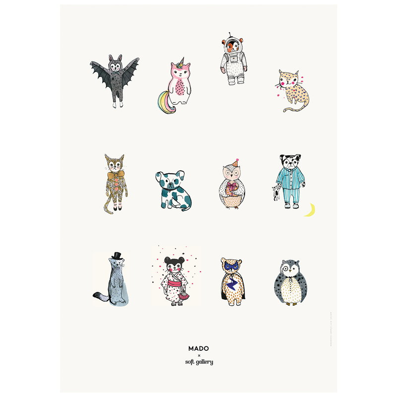 MADO Poster All Together Now 50 x 70 cm