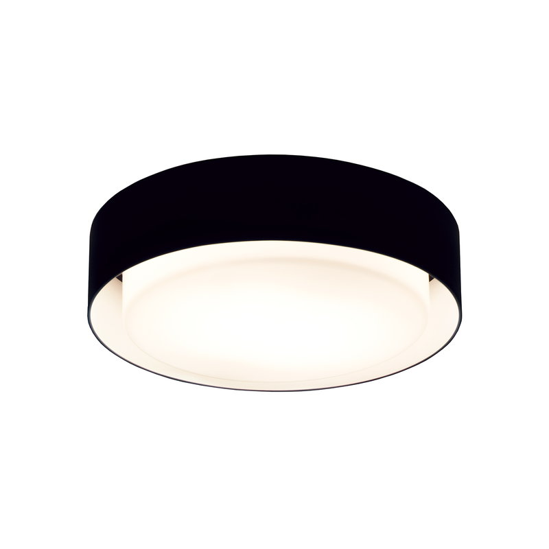 Marset Plaff-On 20 ceiling lamp, black