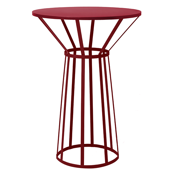 Petite Friture Hollo table, burgundy