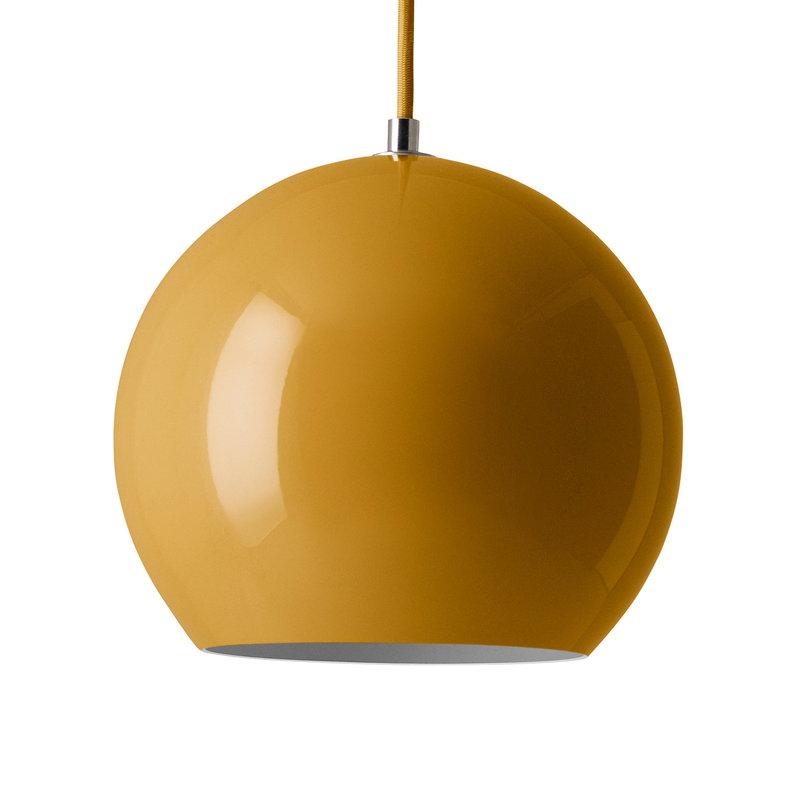 &Tradition Topan VP6 pendant light, mustard