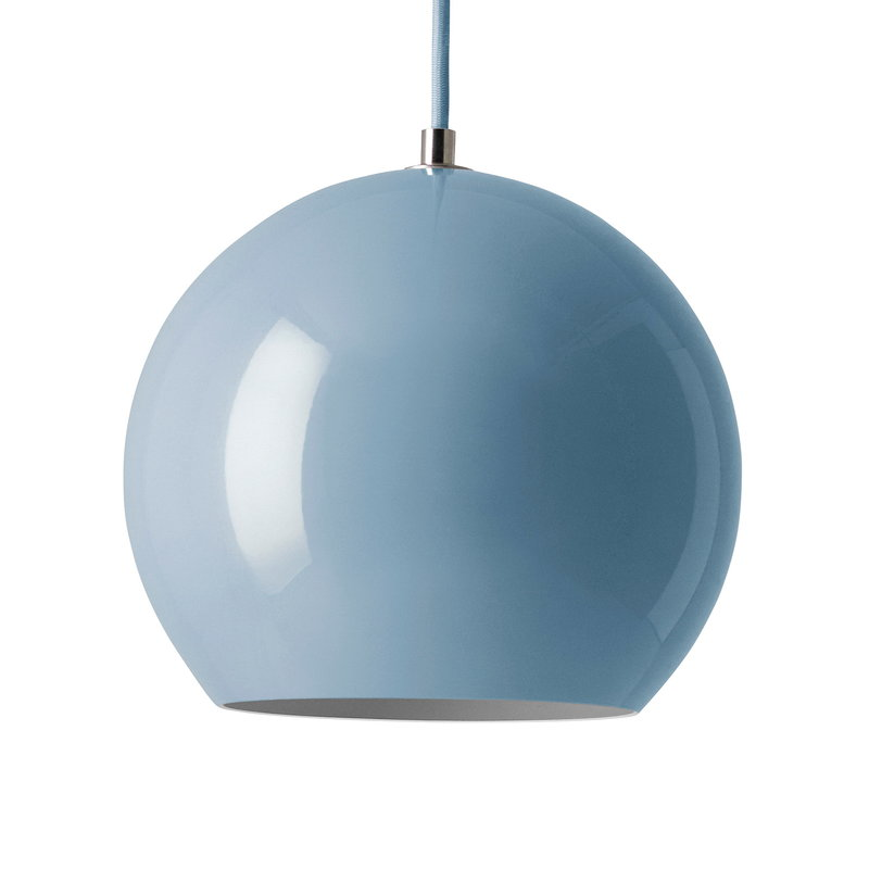 &Tradition Topan VP6 pendant light, light blue
