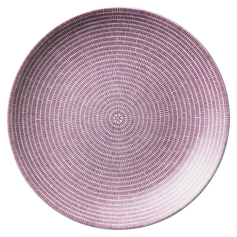 Arabia 24h Avec plate 26 cm, purple