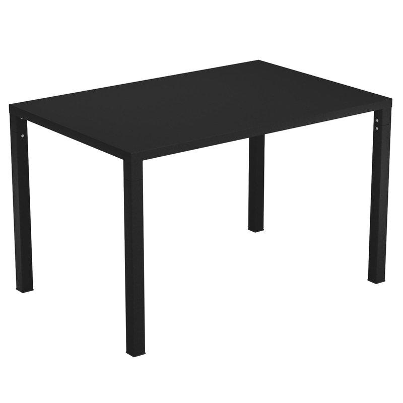 Emu Nova pöytä 120 x 80 cm, musta