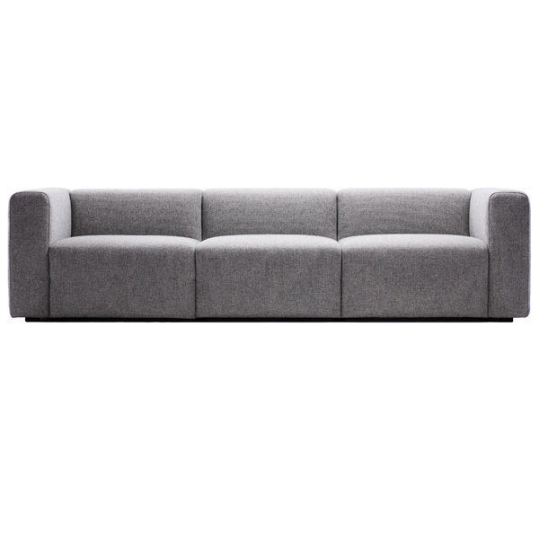 Hay Mags sofa 3-seater, grey
