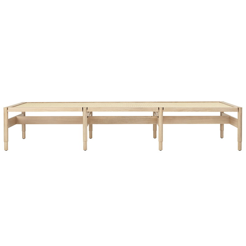Mater Winston daybed, matt lacquered oak