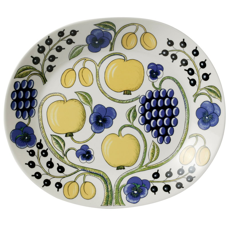 Arabia Paratiisi serving platter, oval