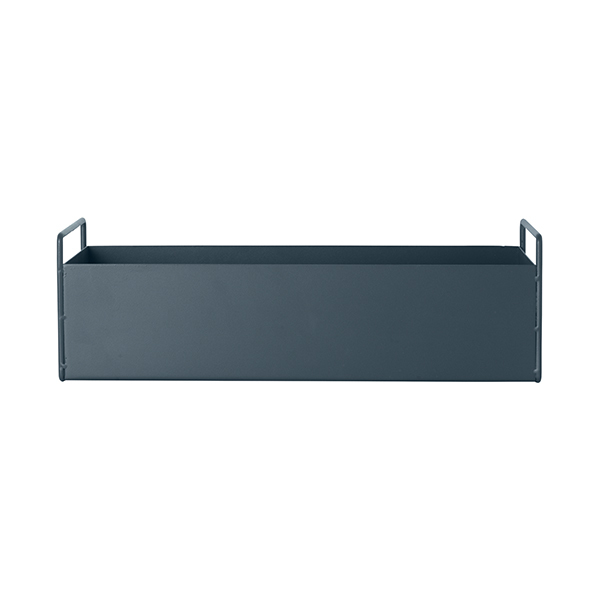 Ferm Living Plant Box, small, dark grey