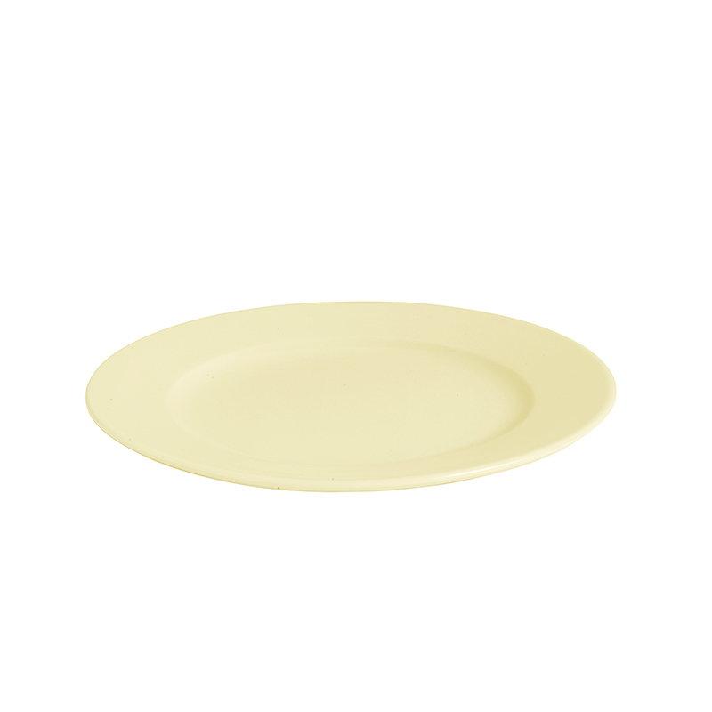 Hay Rainbow plate, small, light yellow