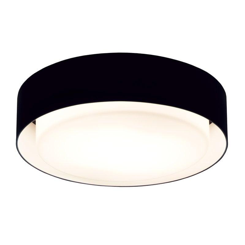 Marset Plaff-On 50 ceiling lamp, black