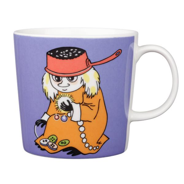 Arabia Moomin mug, Muddler, violet