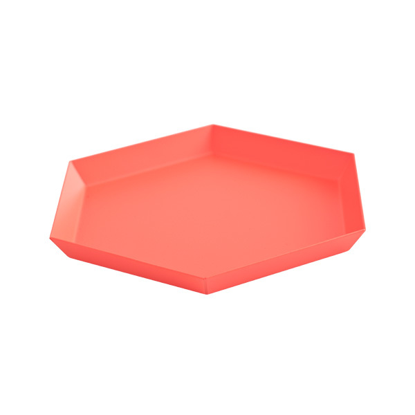 Hay Kaleido tray S, red
