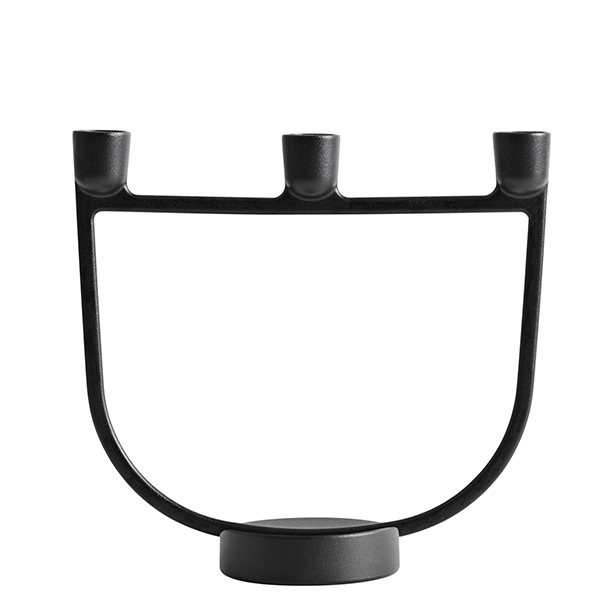 Muuto Open candelabra, black