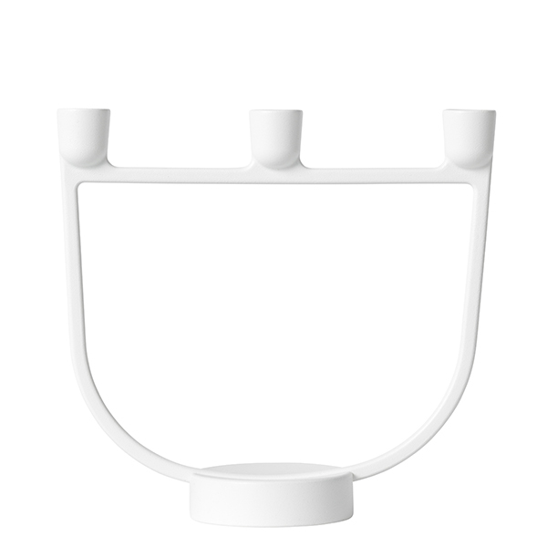 Muuto Open candelabra, white