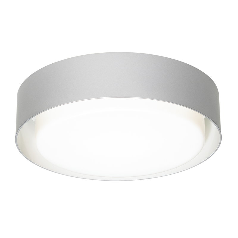 Marset Plaff-On 50 ceiling lamp, silver grey