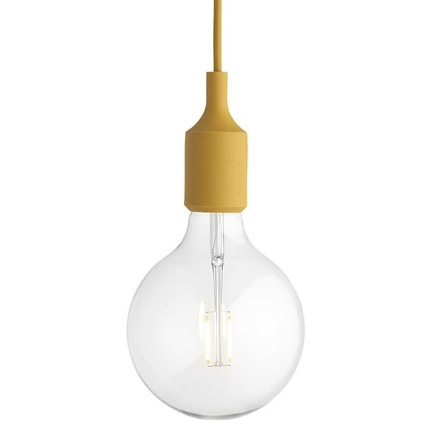 Muuto Lampada E27 LED, senape