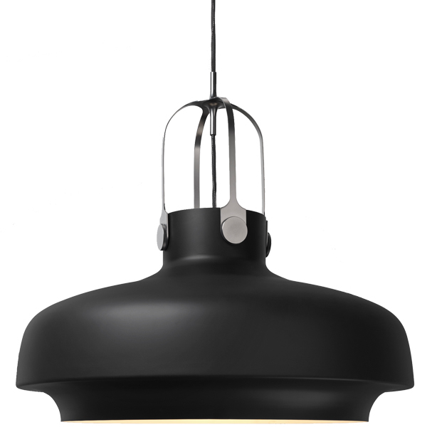 &Tradition Copenhagen SC8 pendant, 60 cm, matt black