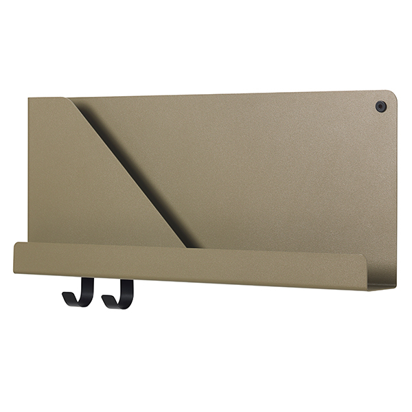 Muuto Folded shelf, olive, small