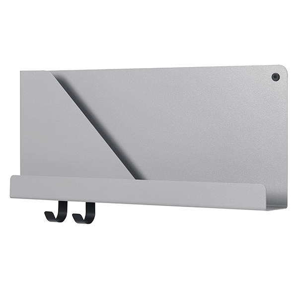 Muuto Folded shelf, grey, small