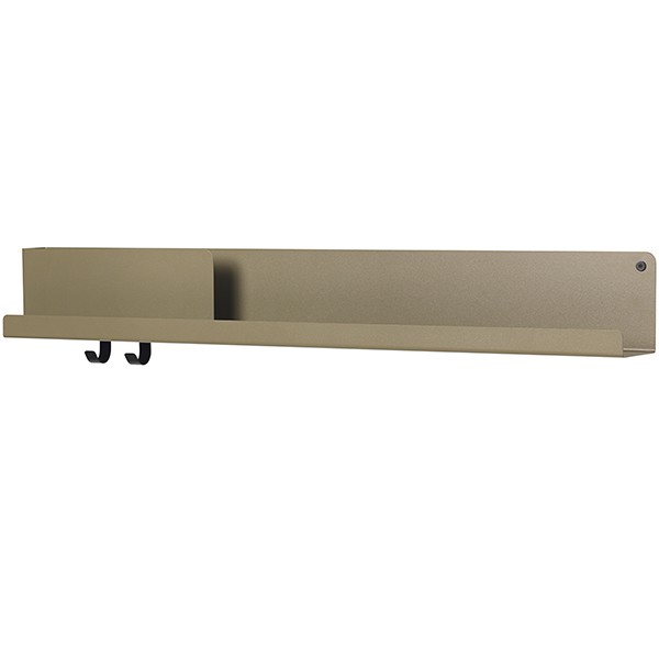 Muuto Folded shelf, olive, large