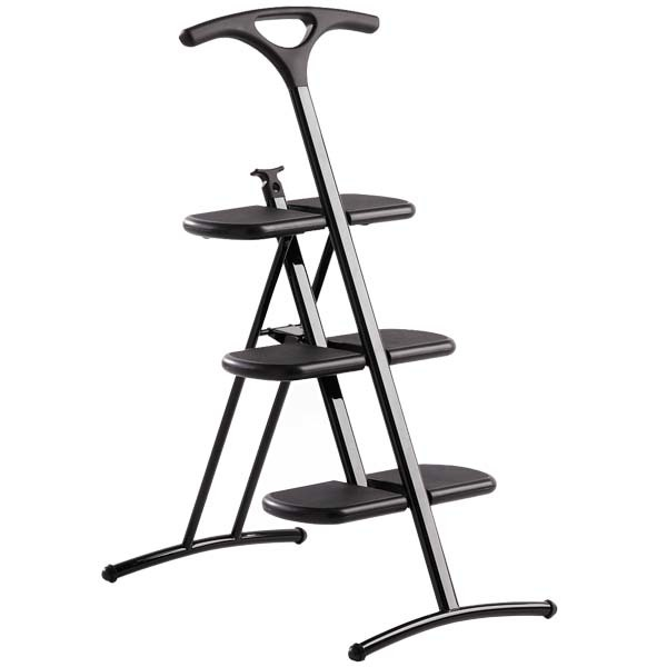 Kartell Tiramisù step ladder, black