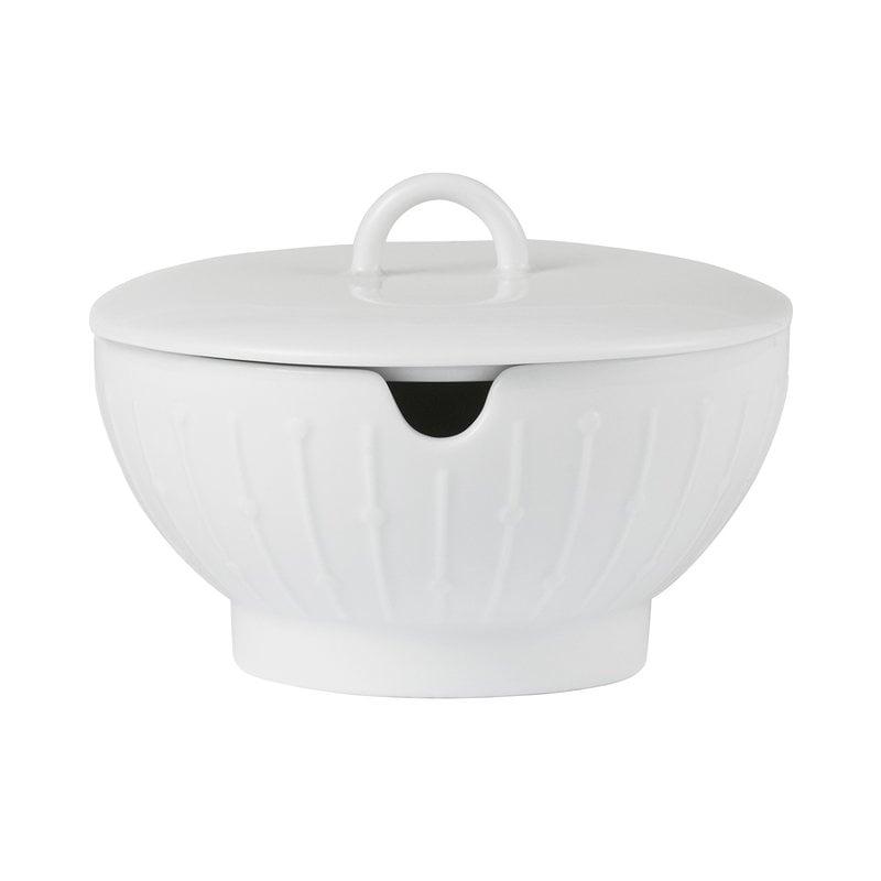 Tivoli Banquet sugar bowl, white