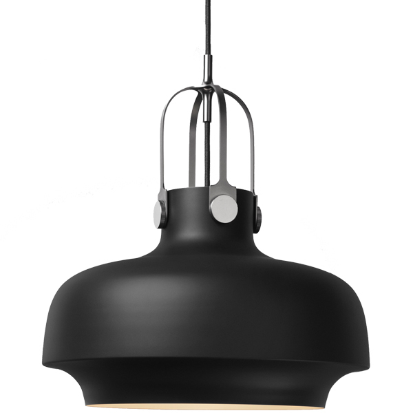 &Tradition Copenhagen SC7 pendant, 35 cm, matt black