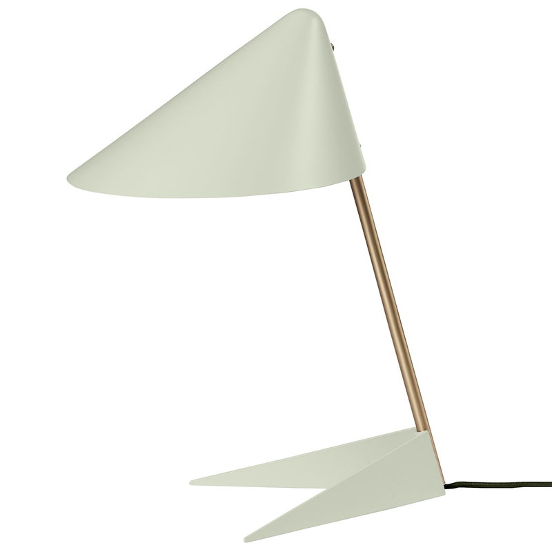 Warm Nordic Ambience table lamp, white - brass