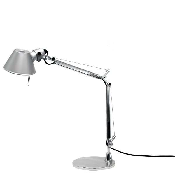 artemide tolomeo micro table lamp aluminium finnish. Black Bedroom Furniture Sets. Home Design Ideas