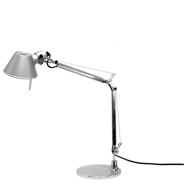 Artemide Tolomeo Micro table lamp, aluminium