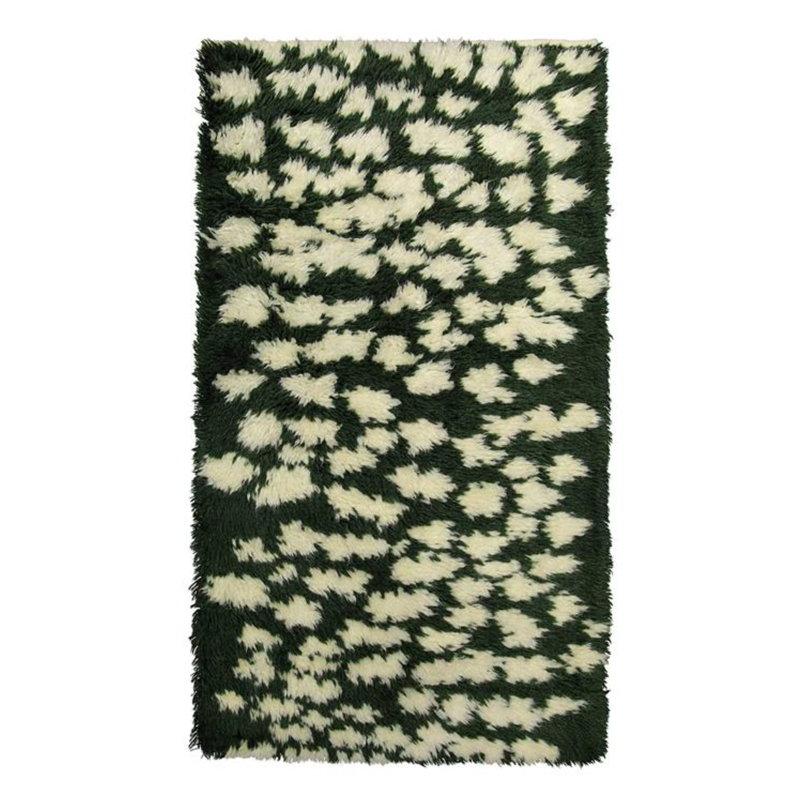 Finarte Hilla matto, 80 x 150 cm, vihreä