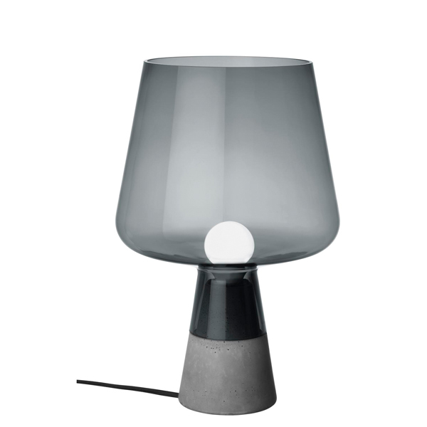 Iittala Leimu table lamp 30 cm, grey