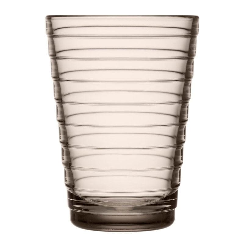 Iittala Bicchiere Aino Aalto 33 cl, 2 pz, lino