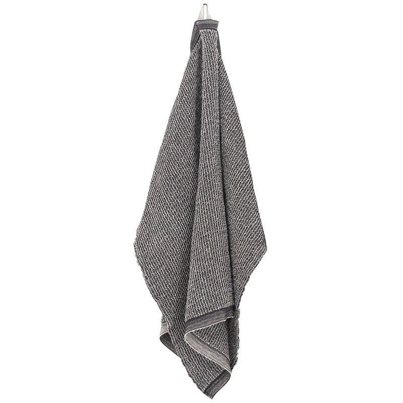 Lapuan Kankurit Terva giant towel, black-linen