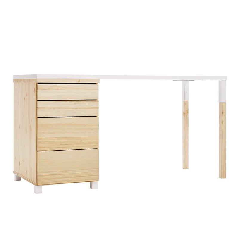 Lundia Classic työpöytä, luonnonvärinen