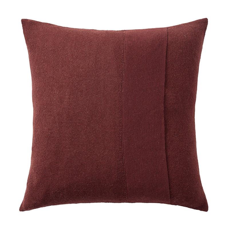 Muuto Layer cushion 50 x 50 cm, burgundy
