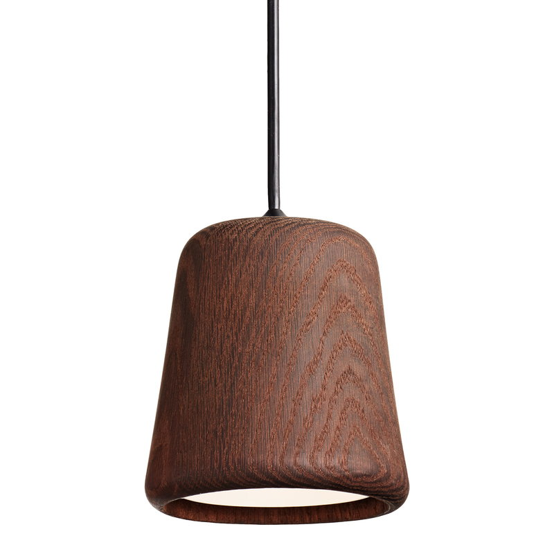 New Works Material pendant, smoked oak