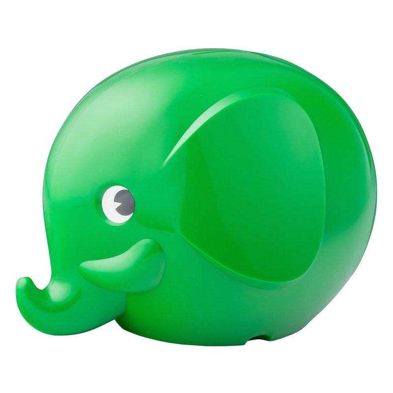 Palaset Maxi Elephant moneybox, green