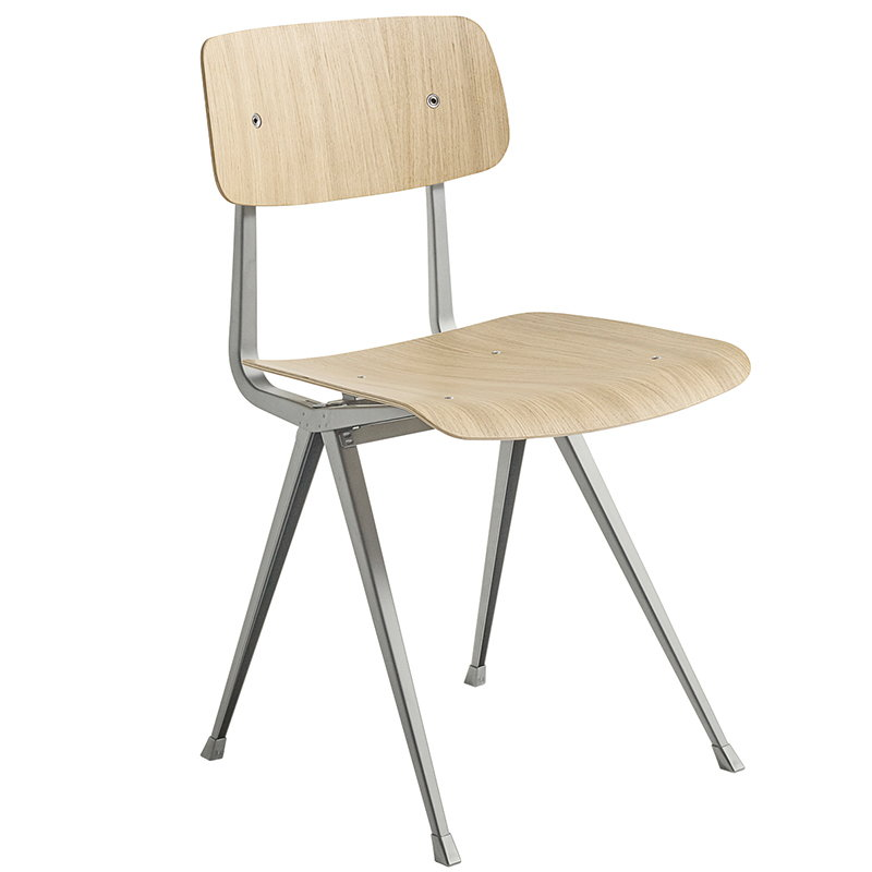 Hay Result chair, beige - matt lacquered oak