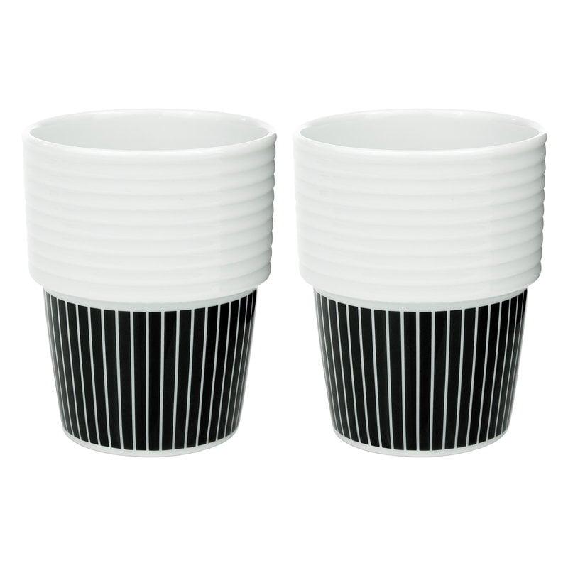Rörstrand Filippa K kahvimuki 0,31 L, 2 kpl, Pinstripes