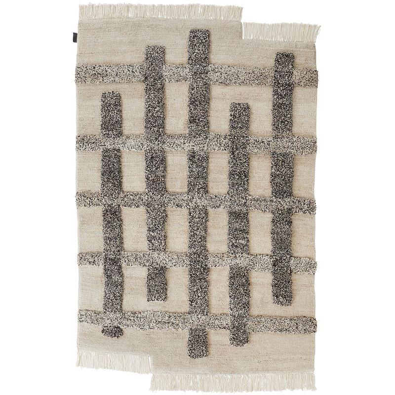 Sera Helsinki Valli rug, off white - grey