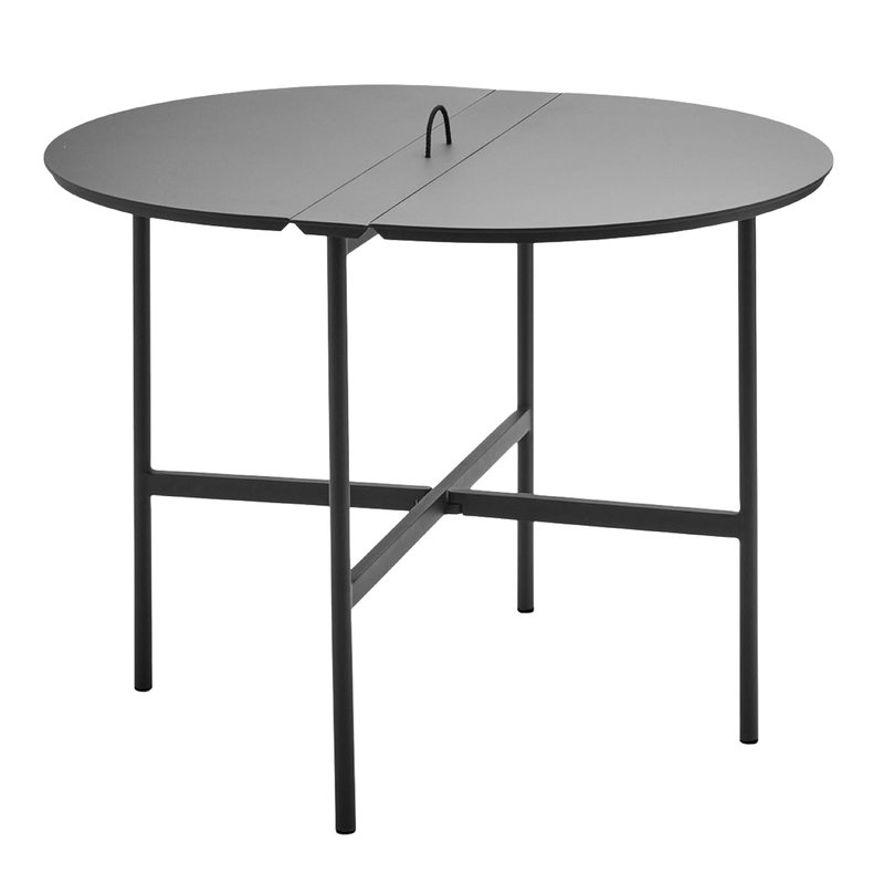 Skagerak Picnic table 105, anthracite black