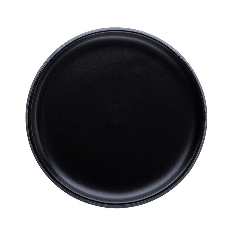 Vaidava Ceramics Piatto Eclipse 22 cm, nero