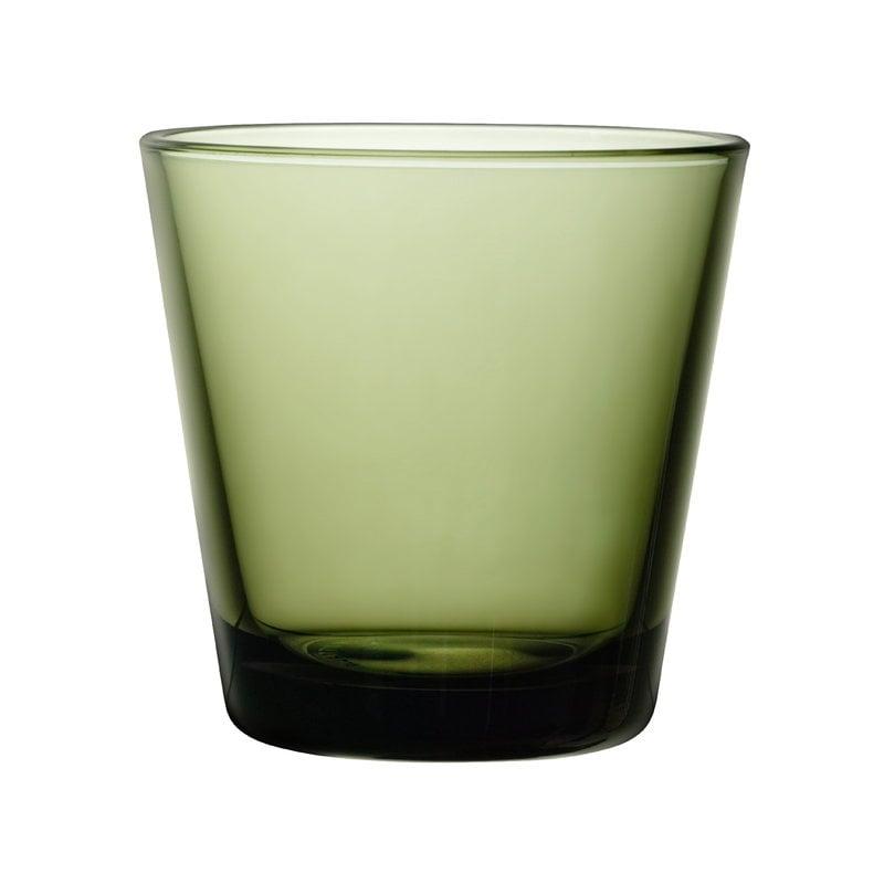 Iittala Bicchiere Kartio 21 cl, verde muschio, 2 pz