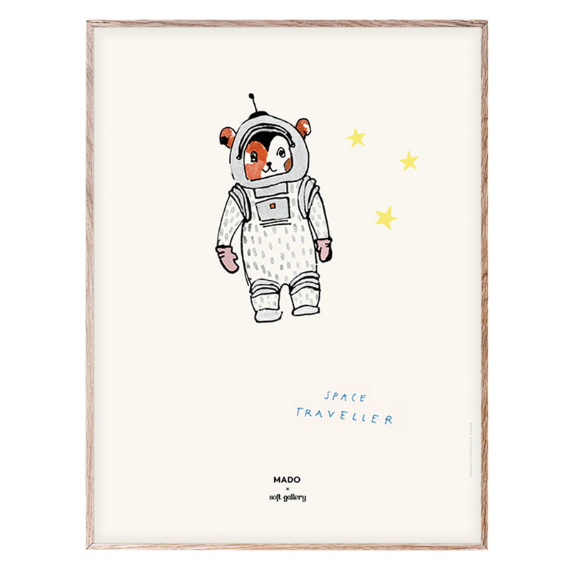 MADO Space Traveller poster 30 x 40 cm