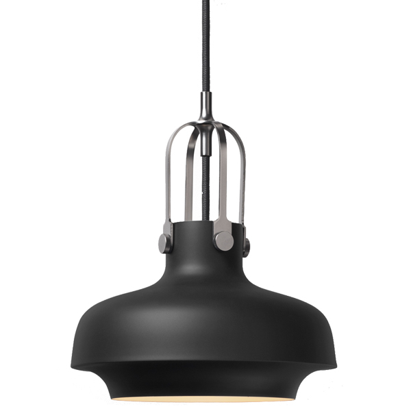 &Tradition Copenhagen SC6 pendant, 20 cm, matt black