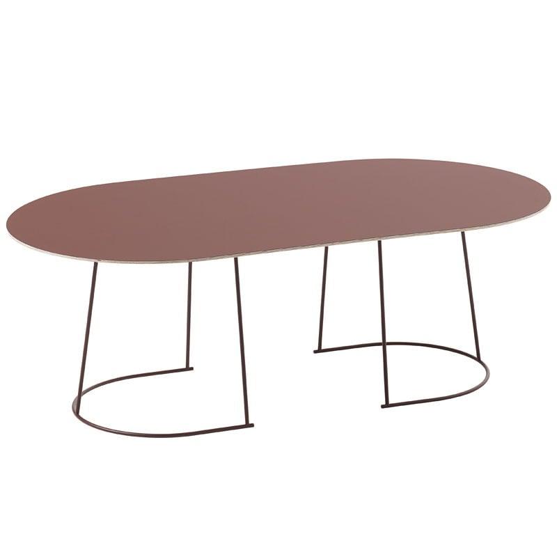 Muuto Airy sohvapöytä, iso, luumu