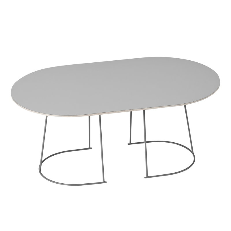 Muuto Airy coffee table, medium, grey