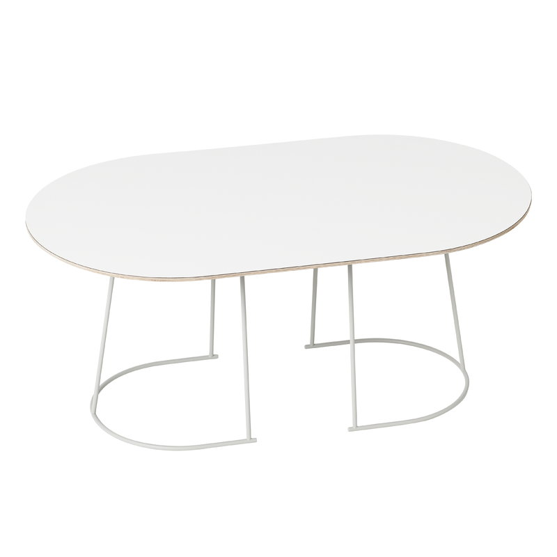 Muuto Airy coffee table, medium, off-white