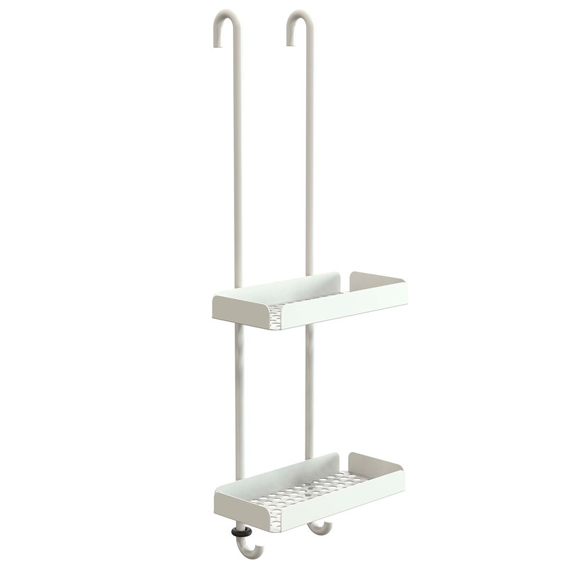 Frost Nova2 shower shelf 6, white