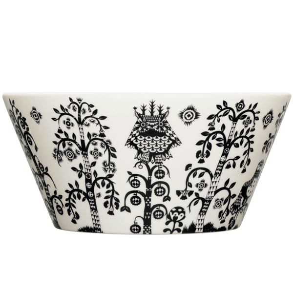 Iittala Taika bowl 2,8 L, black